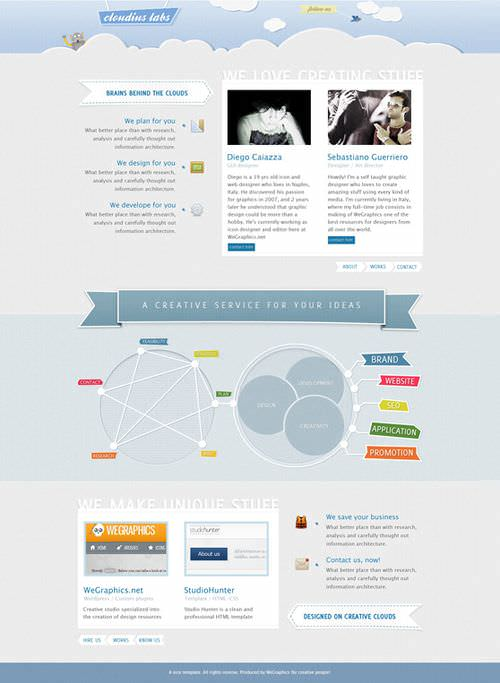 44 Photoshop Web Design Layout Tutorials