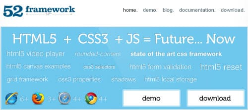20+ Top CSS Framework