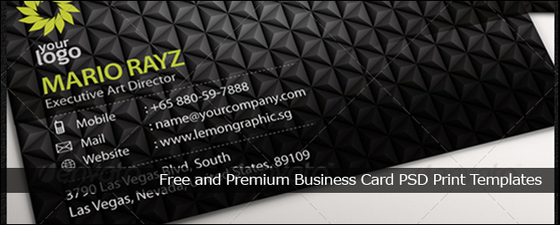60+ Free and Premium Business Card PSD Print Templates