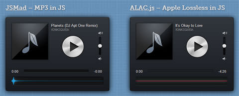 Playing MP3 & ALAC Files With JavaScript