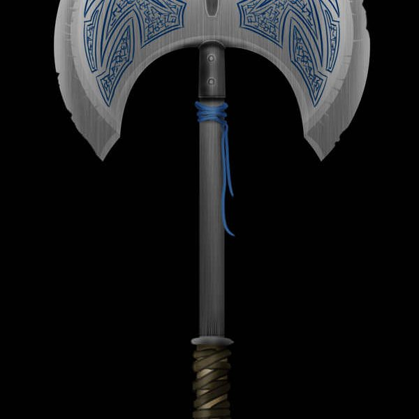 Create a Medieval Battle Axe in Photoshop