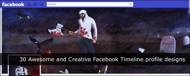 30 Awesome and Creative Facebook Timeline Profile Designs
