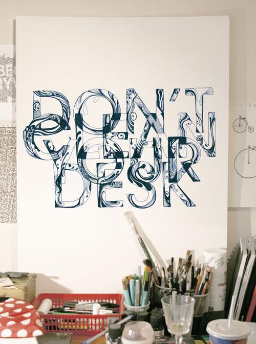 Impressive Hand Drawn Typography Inspiration