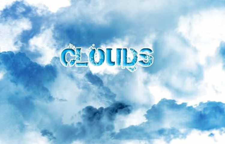 30 Cloud Photo shop Brushes, Imagination At It's Peek