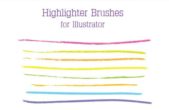 How to Create a Set of Highlighter Brushes for Illustrator