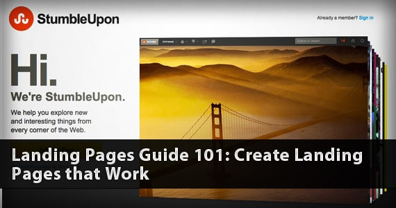 Create Landing Pages that Work
