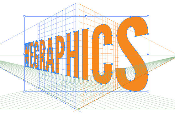 Illustrator Quick Tip: 3D Type in Perspective