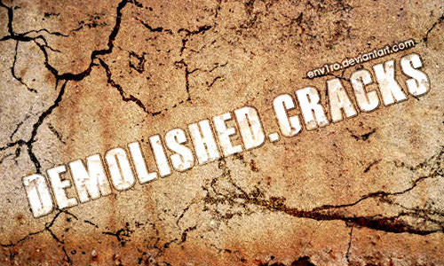 30 Sets of Free Crack Brushes for Photoshop