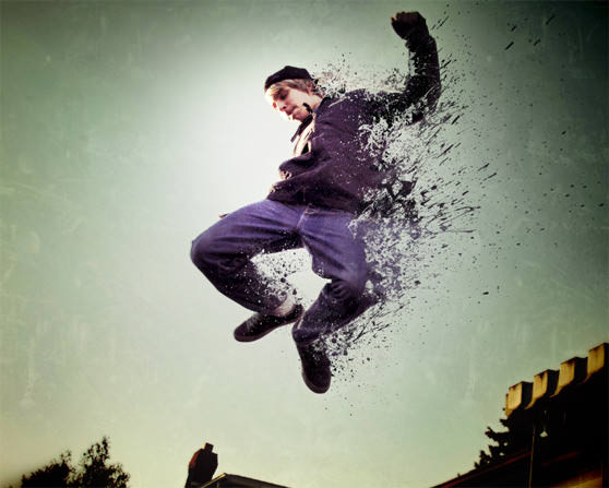 How to Create an Easy Dispersion Effect in Photoshop
