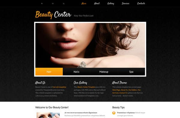 Free HTML Templates: Download More Than 50 Superb Designs