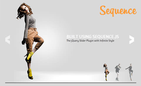 An Infinite jQuery Slider Plugin With Modern Effects – Sequence