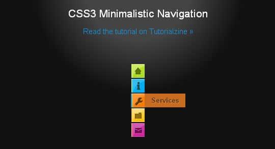 40+ Excellent CSS3 Menu Tutorials