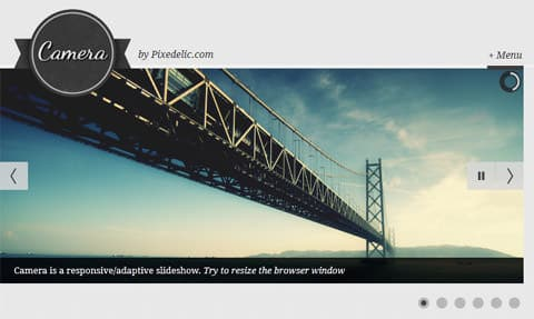 Responsive jQuery Slideshow Plugin With Touch Support