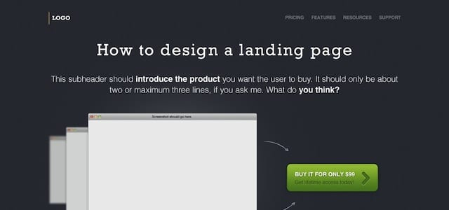 25 Detailed Web Layout PSD Templates