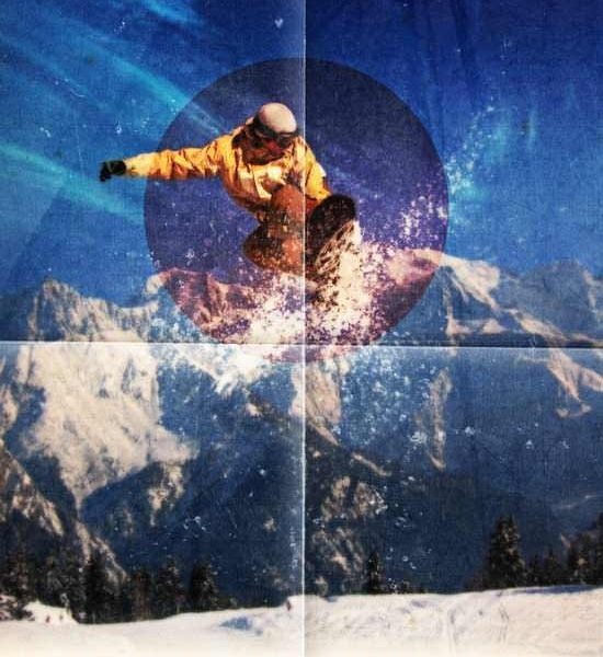How to Design a Modern Style Ski Poster in Photoshop