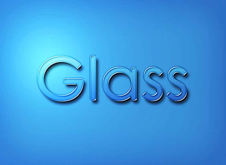 How to Make Glass Effect in Photoshop