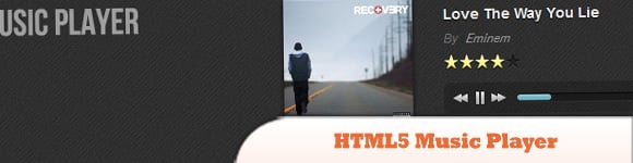 25 Awesome HTML5 and JQuery Plugin Music Player