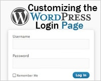 Customizing the WordPress login page for consistent branding