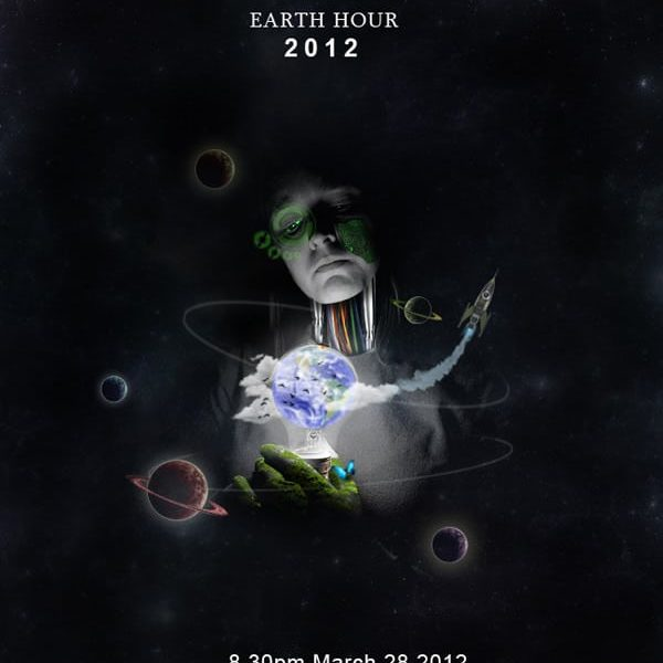 Photo Manipulate an Eye Catching Poster Design for Earth Hour