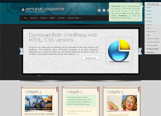 30+ Excellent 2012 Free WorPress Themes
