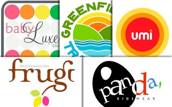 20 Inspirational Multicolor Designs in Kids-Wear Logos