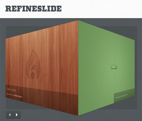 Responsive Image Slider With Lots Of CSS3 Effects