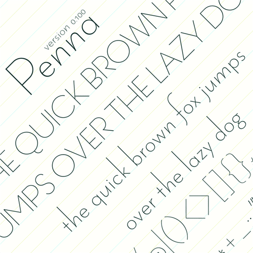 20 Free and Popular Thin Fonts