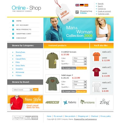 22 Free High-Quality E-Commerce Templates