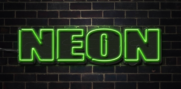 Create a Neon Text Effect in Photoshop | Best 4 Web Design