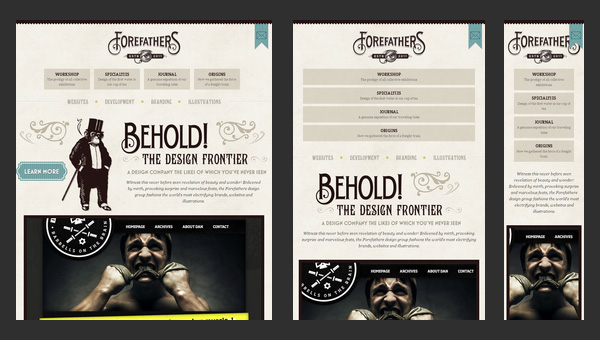Creative Examples of Responsive Web Design for Your Inspiration