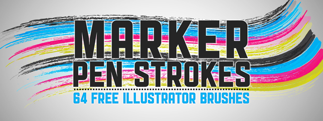 30 High Quality Brush Packs for Illustrator