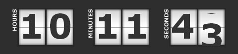 jQuery Countdown Plugins For Coming-Soon Pages