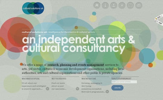 Showcase Of Beautiful Patterns And Textures In Web Design