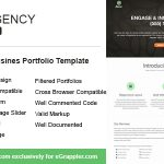 Hexa: Free Responsive Hexagonal Portfolio HTML Template