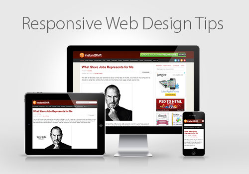 Responsive Web Design Tips