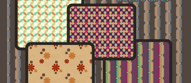 A Collection of Retro and Vintage Patterns for Photoshop