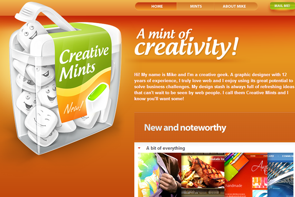 33 Brilliant Orange Websites for Design Inspiration