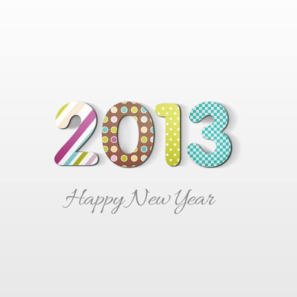 How to Create Happy New Year 2013 Holiday Card in Adobe Photoshop CS6