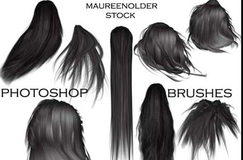 100+ Free Hair Brushes For Photoshop Users