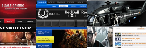 10 Unique Gaming Website Layouts To Inspire Your Imagination