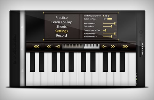 How to Create a Nice Piano App UI in Photoshop