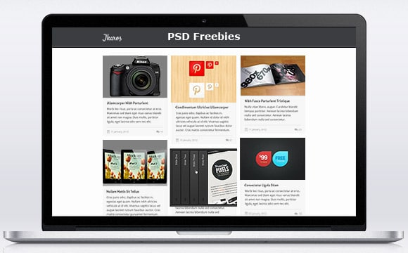 50 of the Best PSD Freebies