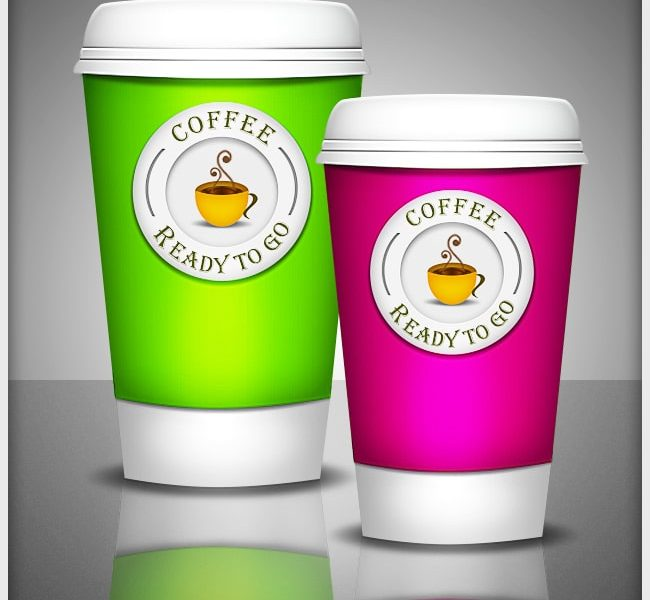 Create a Ready to Go Coffee Cup in Photoshop from scratch