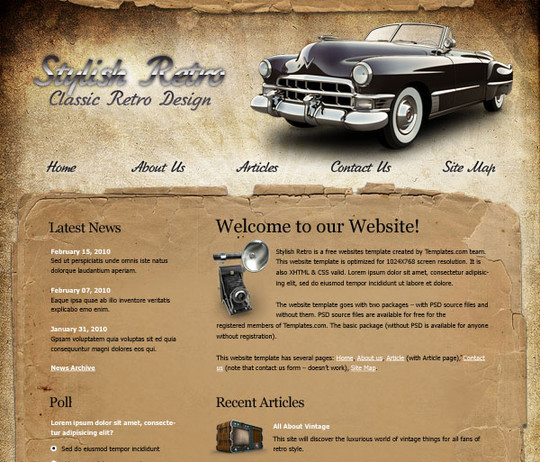 40 High Quality Photoshop Web Layout Tutorials