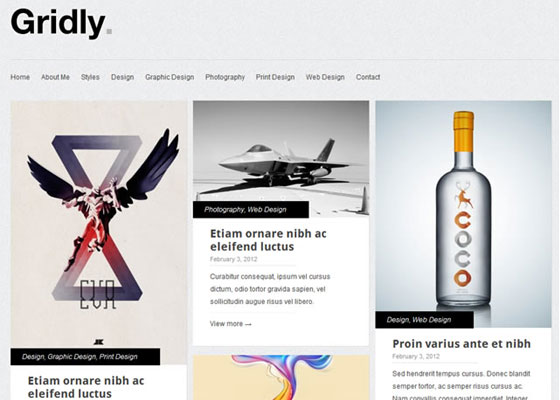 25 Free Minimal Responsive WordPress Themes