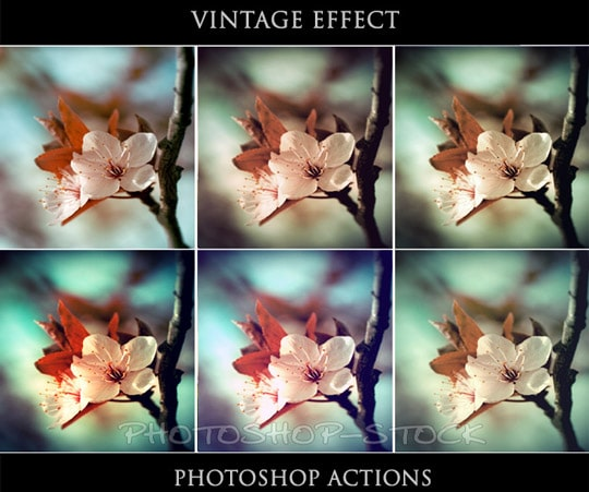 40 Time Saving Free Photoshop Actions For Vintage Effect | Best 4