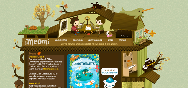 Creative Depth in Web Design