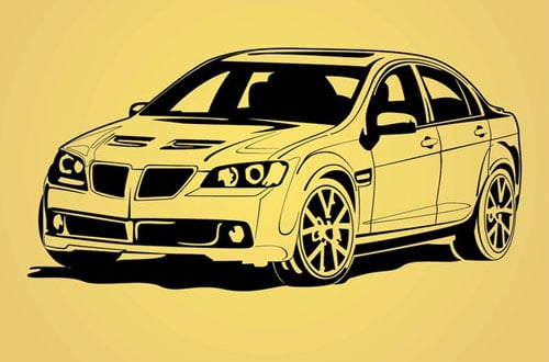 A Collection Of Free Vector Vehicles For Designers