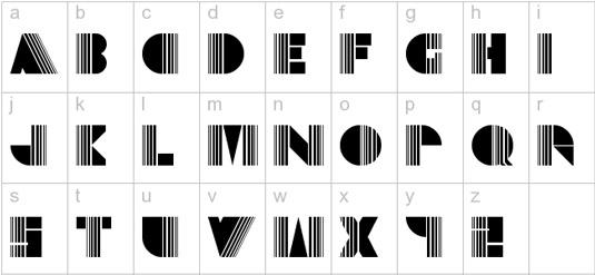 10 free retro fonts