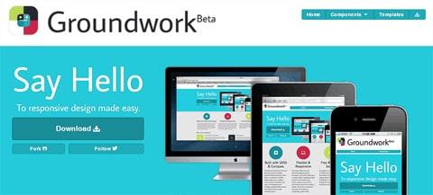 Groundwork – A Responsive Front-End Framework